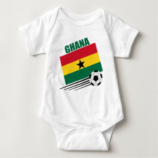 Equipo de fútbol de Ghana Body Para Bebé