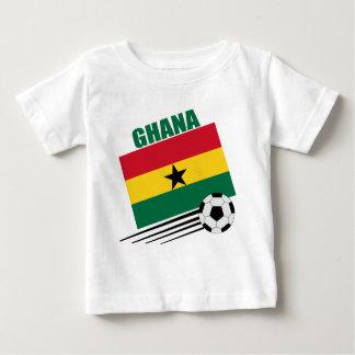 Equipo de fútbol de Ghana Playera De Bebé