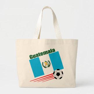 Equipo de fútbol de Guatemala Bolsa Tela Grande