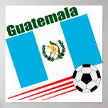 Equipo de fútbol de Guatemala Impresiones