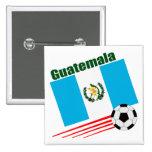Equipo de fútbol de Guatemala Pin