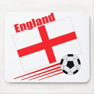 Equipo de fútbol de Inglaterra Alfombrillas De Ratones