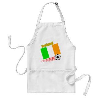 Equipo de fútbol de Irlanda Delantal