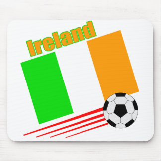 Equipo de fútbol de Irlanda Mouse Pads