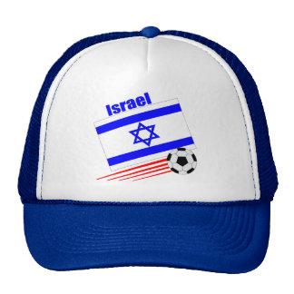 Equipo de fútbol de Israel Gorras De Camionero