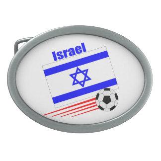 Equipo de fútbol de Israel Hebilla Cinturón
