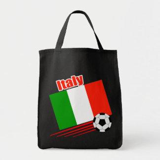 Equipo de fútbol de Italia Bolsa Tela Para La Compra