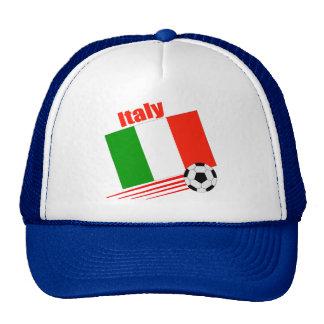 Equipo de fútbol de Italia Gorros