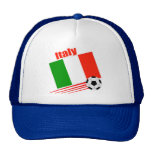 Equipo de fútbol de Italia Gorros Bordados