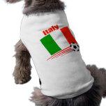 Equipo de fútbol de Italia Ropa Macota