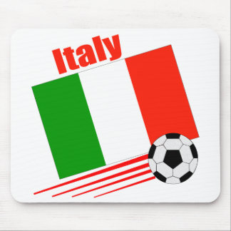 Equipo de fútbol de Italia Tapetes De Raton