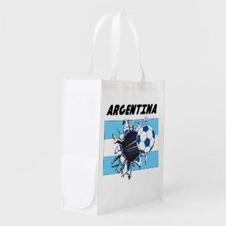 Equipo de fútbol de la Argentina Bolsas Reutilizables