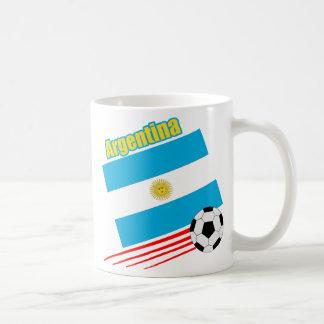 Equipo de fútbol de la Argentina Taza De Café