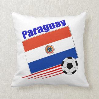 Equipo de fútbol de Paraguay Cojin