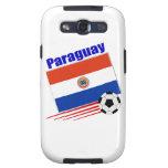 Equipo de fútbol de Paraguay Galaxy S3 Carcasa
