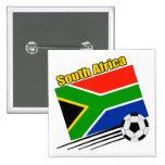 Equipo de fútbol de Suráfrica Pin