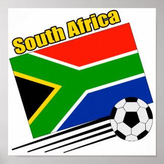 Equipo de fútbol de Suráfrica Poster