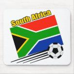 Equipo de fútbol de Suráfrica Alfombrillas De Ratones