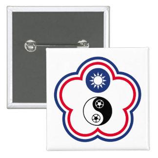 Equipo de fútbol de Taipei del chino, bandera de C Pins