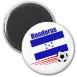 Equipo de fútbol del Honduran Imanes De Nevera