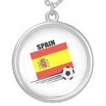 Equipo de fútbol español collar