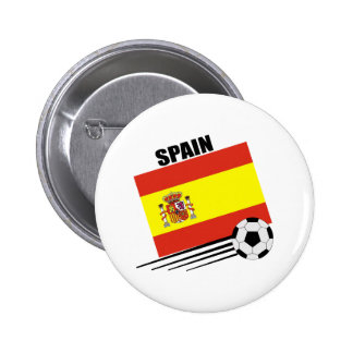 Equipo de fútbol español pin