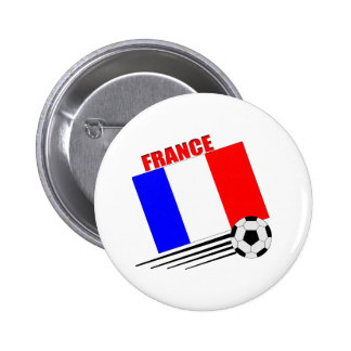 Equipo de fútbol francés pin