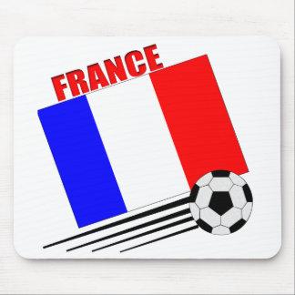 Equipo de fútbol francés tapete de ratones