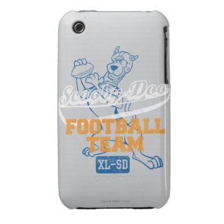 Equipo de fútbol - gris iPhone 3 Case-Mate cárcasas