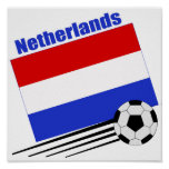 Equipo de fútbol holandés posters