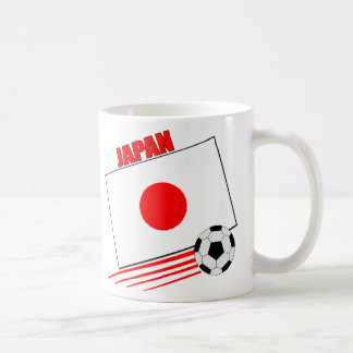 Equipo de fútbol japonés taza clásica