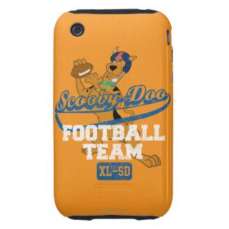 Equipo de fútbol - naranja iPhone 3 tough protectores