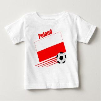 Equipo de fútbol polaco playera