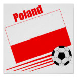 Equipo de fútbol polaco posters