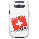 Equipo de fútbol suizo galaxy SIII fundas