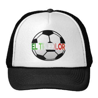 equipo de fútbol tricolor del EL México Gorras De Camionero