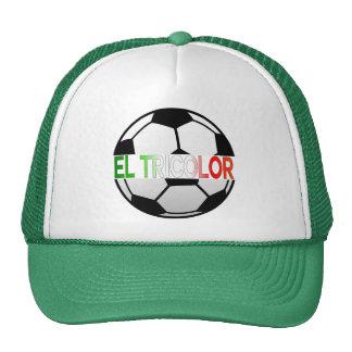 equipo de fútbol tricolor del EL México Gorro
