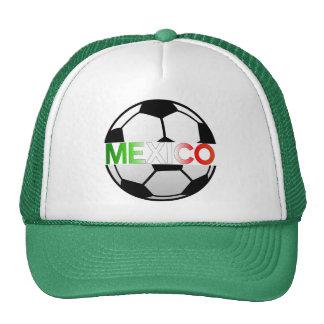 equipo de fútbol tricolor del EL México Gorras