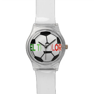 equipo de fútbol tricolor del EL México Reloj De Mano