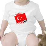 Equipo de fútbol turco camiseta