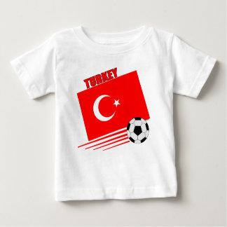 Equipo de fútbol turco playeras