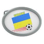 Equipo de fútbol ucraniano hebillas cinturón