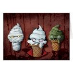 ¡Equipo de Halloween de los monstruos! Tarjeta