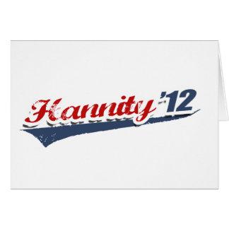 Equipo de Hannity Tarjeta De Felicitación