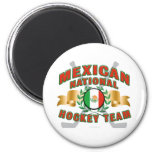 Equipo de hockey nacional mexicano iman para frigorífico