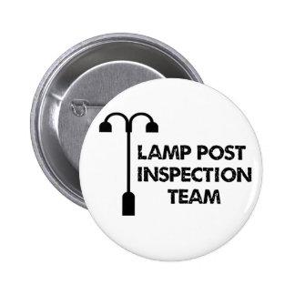 Equipo de inspección del poste de la lámpara pin