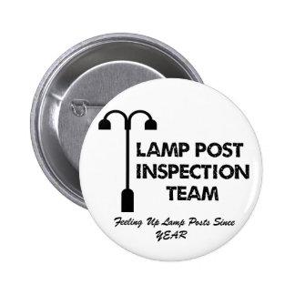 Equipo de inspección del poste de la lámpara pins