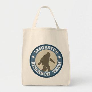Equipo de investigación de Sasquatch Bolsa Tela Para La Compra