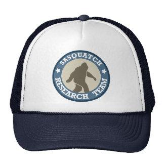 Equipo de investigación de Sasquatch Gorras