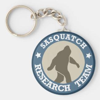 Equipo de investigación de Sasquatch Llavero Redondo Tipo Pin